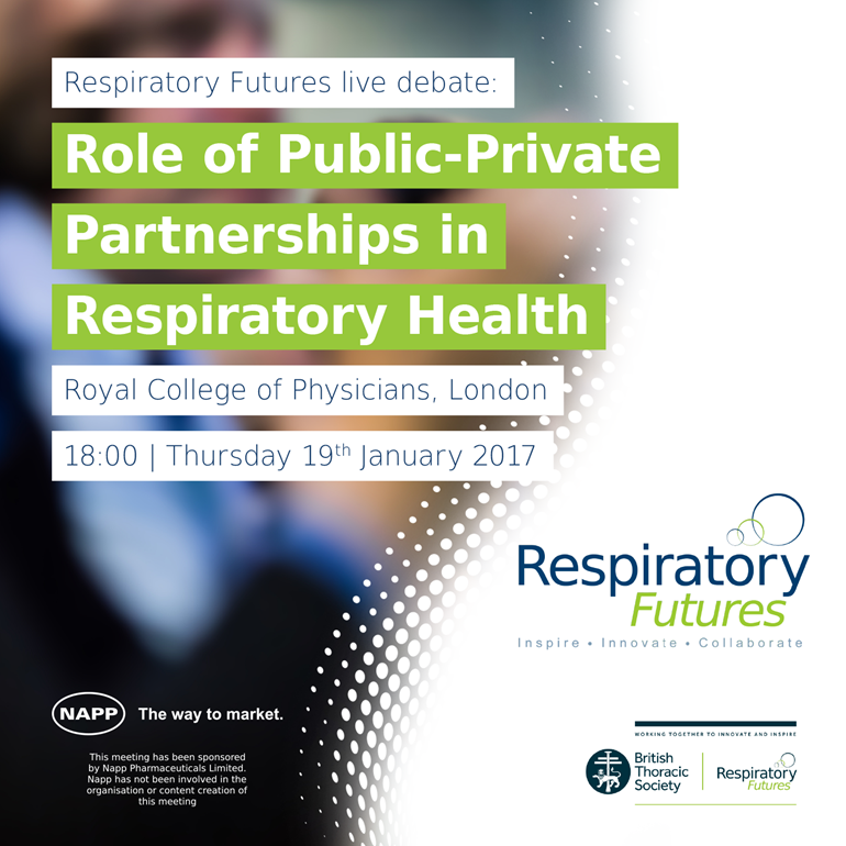 Transforming respiratory healthcare: role of public-private partnerships